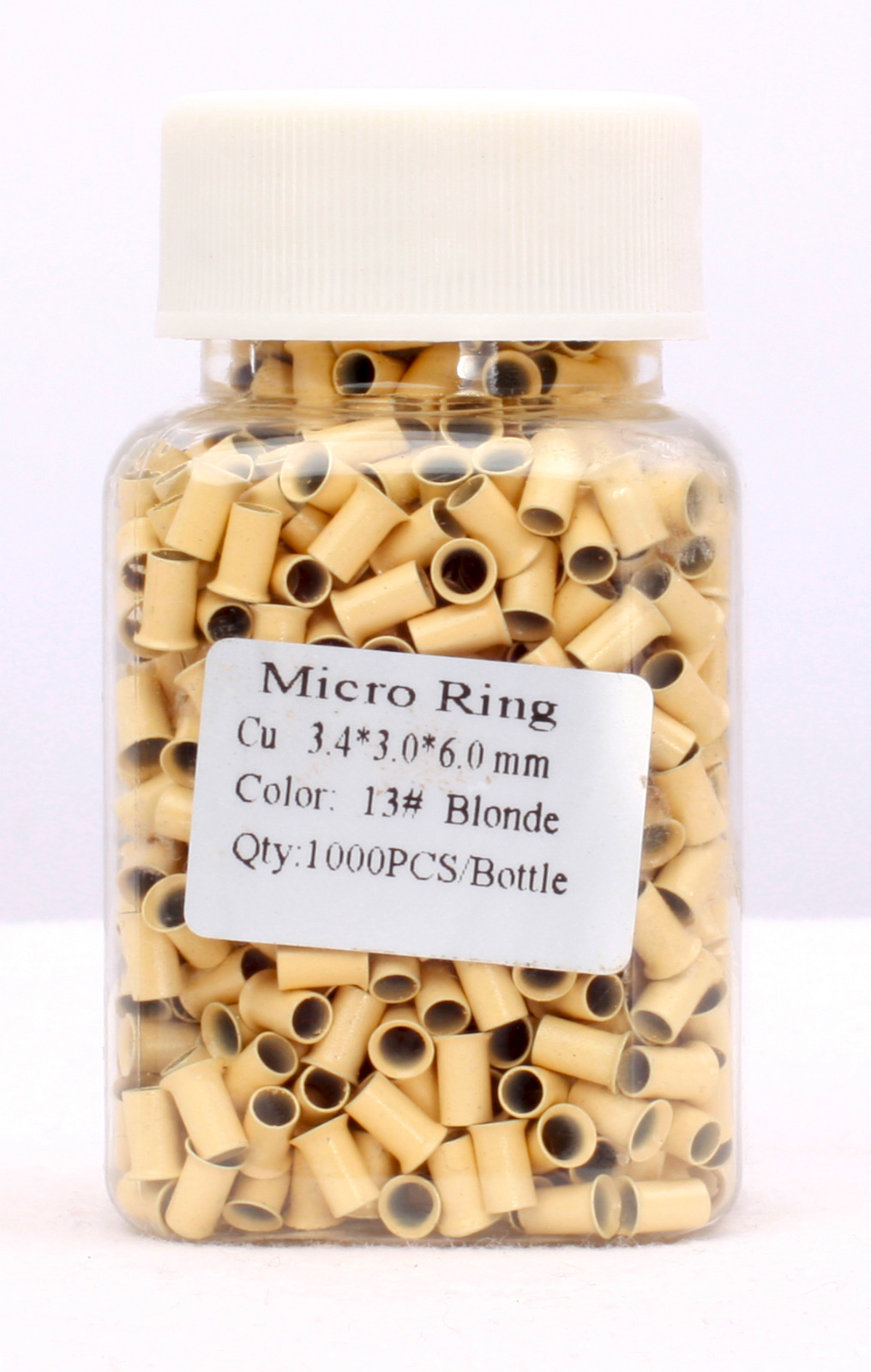 mikrorings mit gewinde durchmesser aussen 4mm 100 stk longstyle hair. Black Bedroom Furniture Sets. Home Design Ideas